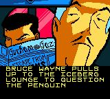 Batman: Chaos in Gotham Game Boy Color Alfred