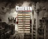 Omerta: City of Gangsters Windows Main menu. Jazz music plays on from here.