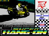 Super Hang-On ZX Spectrum Title screen