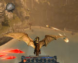Divinity II: Ego Draconis Windows Powered-up dragon in the heat of battle
