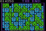 Drelbs Apple II Game over