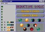 Deductive Logic Windows A partly completed game