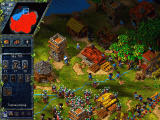 The Settlers III Windows Enemies has no soldier - easy conquest.