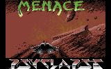 Menace Commodore 64 Loading screen