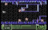 Menace Commodore 64 Gameplay on the second level