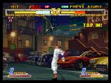 Garou: Mark of the Wolves Dreamcast Hotaru launches Rock with a kick and make him enter to T.O.P mode.