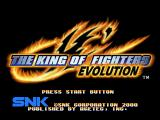 The King of Fighters: Evolution Dreamcast Title screen.