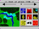 The Evil Crown ZX Spectrum Map and panel options