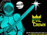 The Evil Crown ZX Spectrum Title screen