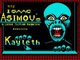 Kayleth ZX Spectrum Title screen