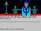 Kayleth ZX Spectrum Preview - Zenron Temple