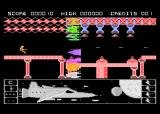 Mission Zircon Atari 8-bit Level 1 first enemies