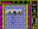 Hybrid ZX Spectrum Robot destroys enemy cannons