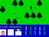 Friday the 13th ZX Spectrum In forest