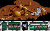 Leviathan Atari ST Fighting a first enemy formation