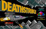 Deathstrike Atari ST Title screen (color)