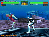 Virtua Fighter 2 Windows Pai vs Dural, the final boss.