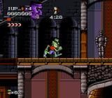 The Adventures of Dr. Franken SNES Big Frankenstein head is enemy too