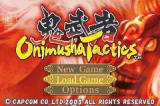 Onimusha Tactics Game Boy Advance Title Screen