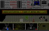 Warlock Atari ST Big spider - I better burn it fast to get that health potion