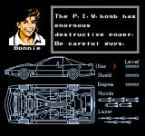 Knight Rider NES Bonnie and the schematics for KITT