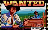 Wanted Atari ST Title screen with credits