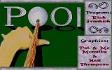Pool Atari ST Title and credits