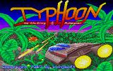 Typhoon Atari ST Title screen
