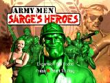 Army Men: Sarge's Heroes Nintendo 64 Title screen