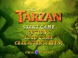 Disney's Tarzan Nintendo 64 Title screen