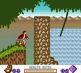 Pitfall: Beyond the Jungle Game Boy Color Ok, liana