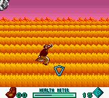 Pitfall: Beyond the Jungle Game Boy Color Catch this!