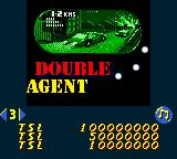 Hollywood Pinball Game Boy Color Double agent