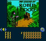 Hollywood Pinball Game Boy Color Legend of Robin Hood