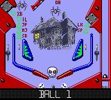 Hollywood Pinball Game Boy Color No name again (motel Hell)