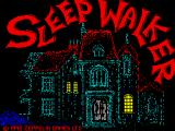 Sleepwalker ZX Spectrum Title screen