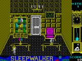 Sleepwalker ZX Spectrum Game starts