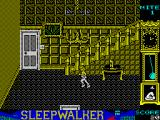 Sleepwalker ZX Spectrum Stairs