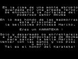 Karateka ZX Spectrum Story