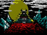 Karateka ZX Spectrum Temple