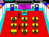 Mikie ZX Spectrum Annoying teacher
