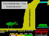 Thunderbirds ZX Spectrum Overweight