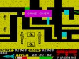 Thunderbirds ZX Spectrum Crash and game over
