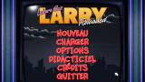 Leisure Suit Larry: Reloaded Windows Main menu (French version)
