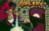 Sorcery+ Atari ST Title screen