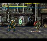 Alien Vs. Predator SNES The Predator can a variety of weapons from the movies. The shoulder cannon is quite powerful but it takes time to charge up.