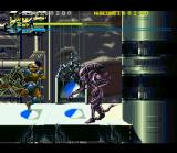 Alien Vs. Predator SNES Getting surrounded by enemies isn't a particularly good idea.