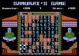 Samurai's Game Atari 8-bit Game start