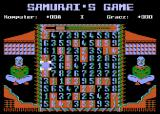 Samurai's Game Atari 8-bit Tournament mode
