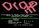 Drop It! Atari 8-bit Main menu